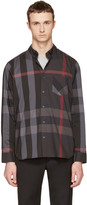 Burberry Grey Check Thornaby Shirt