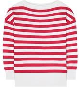 Dolce & Gabbana Striped Silk Sweater