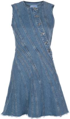 Thierry Mugler Denim Mini Dress