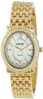August Steiner Women's AS8043YG Dazzling Diamond Oval Bracelet Watch