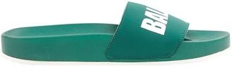 Undercover Green Rubber Sandals