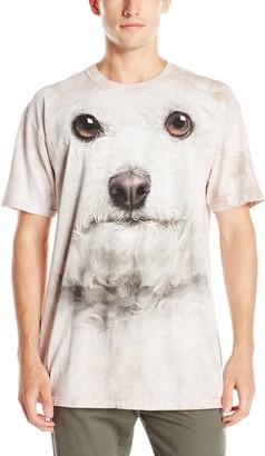 The Mountain Bichon Frise Face Adult T-Shirt