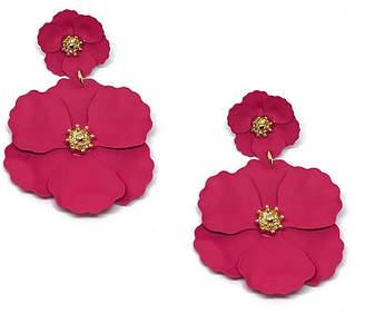 Bijoux Bar Flower Flower Drop Earrings