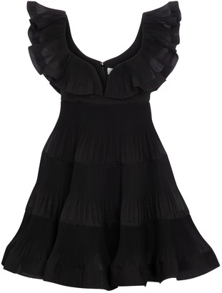 Zimmermann The Lovestruck pleated minidress