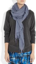 Chan Luu Cashmere and silk-blend scarf