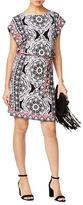 I.N.C International Concepts Petite Belted Shift Dress