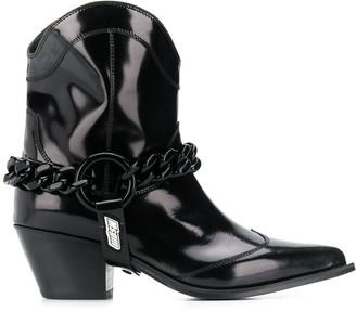 MSGM Texas Chain Boots