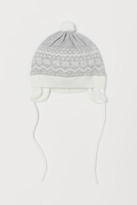 H&M Cotton Hat - Gray