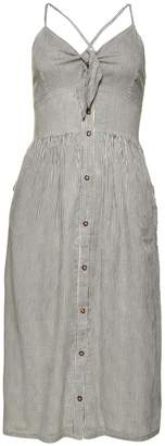 Superdry Jayde Striped Midi Dress with Bow