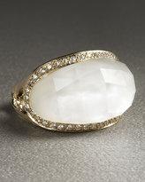 Quartz Jellybean Ring
