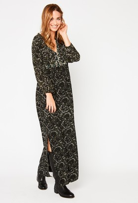 Stella Forest Khaki Long Boho Dress