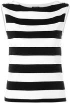 Polo Ralph Lauren striped top - women - Cotton - S