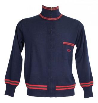 Givenchy Blue Wool Knitwear & Sweatshirts