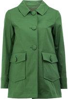 Herno flap pockets coat
