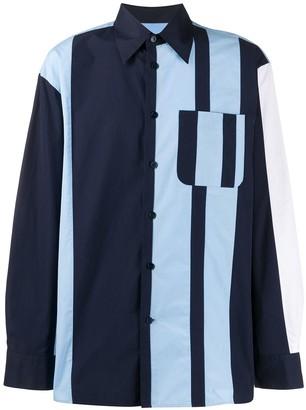 Marni Block Striped Shirt