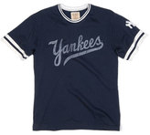 Red Jacket Men's 'New York Yankees' Trim Fit Ringer T-Shirt