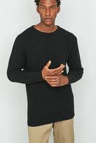 Soulland Ricketts Black Honeycomb Jumper