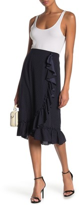Pleione Ruffle Midi Skirt