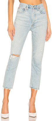 A Gold E Riley High Rise Straight Crop. - size 28 (also