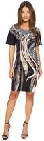 Just Cavalli Leo Hurricane Bodycon Jersey Dress
