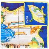 fe-fe printed scarf - unisex - Silk - One Size