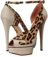 Charlotte Olympia Leopardess