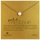 Dogeared pearls of Friendship Pearl Single Strand Necklace