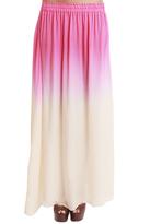 LoveShackFancy Petal Pink Maxi Skirt