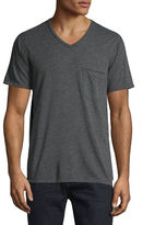 7 For All Mankind Raw Short-Sleeve V-Neck T-Shirt