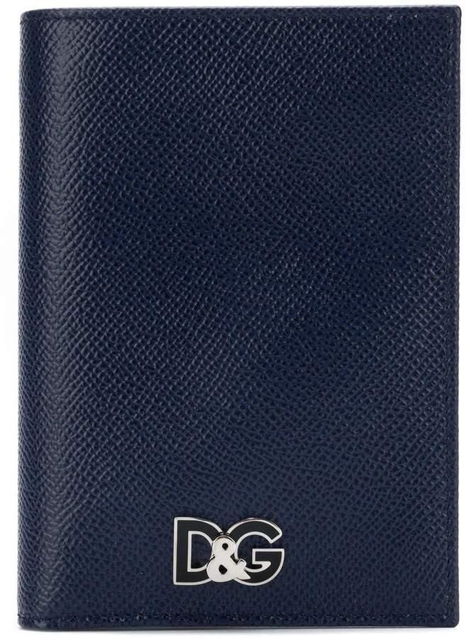Dolce & Gabbana bifold wallet with logo plaque