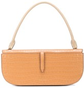 Danse Lente colour block embossed shoulder bag