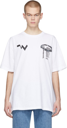 Off-White White Low Res T-Shirt