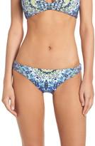 Red Carter Reversible Hipster Bikini Bottom