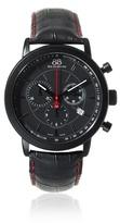 88 Rue du Rhone Rue du Rhone Double 8 Chronograph Black Dial Black Leather Mens Watch 87WA120046