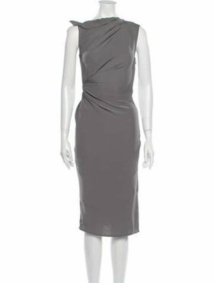 Narciso Rodriguez 2018 Knee-Length Dress Grey