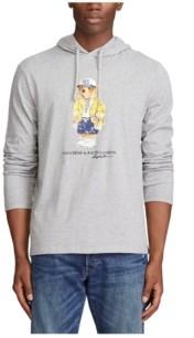 Polo Ralph Lauren Men's Denim Polo Bear Hooded T-Shirt