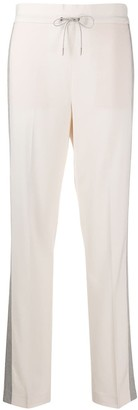 Fabiana Filippi Stripe Trim Sweatpants