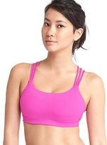 Gap Low impact Coolmax® layer triple-strap sports bra