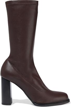 Stella McCartney Palmer Faux Stretch-leather Sock Boots