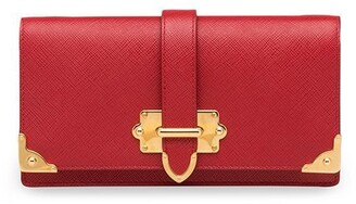 Prada Cahier Saffiano mini cross-body bag