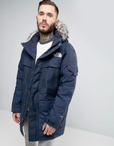 The North Face Mcmurdo2 Down Parka In Navy