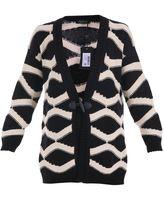Twin-Set Wool Blend Oversize Cardigan