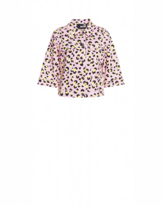 Love Moschino Stretch Gabardine Jacket Leo