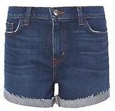 L'Agence Crystal Cove Fold-Back Shorts