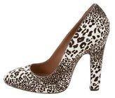 Alaia Ponyhair Leopard Print Pumps w/ Tags