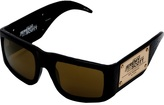 Jeremy Scott For Linda Farrow plaque sunglasses