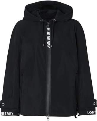 Burberry shape-memory taffeta hooded jacket