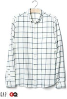 Gap x GQ Steven Alan flannel shirt