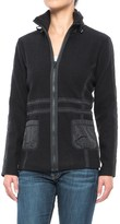 Icelandic Design Cate Jacket - Boiled Wool, Equestrian Trim (For Women)