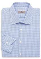 Canali Slim-Fit Check Dress Shirt